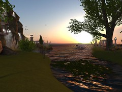 Celestial Isle (Celestial Place) Tags: beach garden cottage location danse secondlife land hugs isle