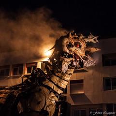 Long ma (Fabien Legagneur) Tags: canon dragon chanel calais spectacle lamachine eos500d longma