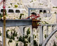 Building a new Bridge (*Capture the Moment*) Tags: workers crane hamburg kran miniaturwunderland arbeiter 2016 bridgeconstruction miniaturwelt brckenbau sonynex7 sonye18200mmoss littlewonderworld