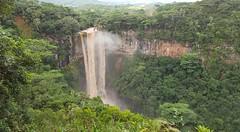 Waterfall Chamarel (Nuffi) Tags: sea reflection fall mare natura cascata