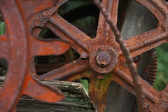 'Rusty and Crusty' (My_Minds_Eye) Tags: rusty gears crusty seedbroadcaster