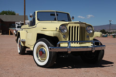 Willys-Overland Jeepster (twm1340) Tags: show arizona tractor march jeep 4x4 az cottonwood willys jeepster overland 2015 flywheelers