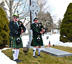 Paying tribute with the pipes