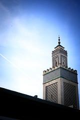 Grande Mosque de Paris (Gwenal Piaser) Tags: blue sky paris france canon eos march grande reflex ledefrance zoom minaret muslim islam gimp grand mosque bleu ciel fullframe francia canoneos parigi 6d mosque 2014 2870mm 24x36 eos6d grandemosquedeparis grandmosqueofparis rawtherapee ef2870mm canonef2870mmf3545ii unlimitedphotos canoneos6d gwenaelpiaser ef2870mmf3545ii 2870mmf3545ii canonef2870mm