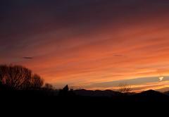 March 13, 2015 - A beautiful sunset. (Shawn & Michelle Jones)