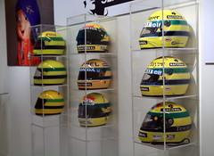 Senna's Helmet (elidos13) Tags: canon helmet sigma f1 exhibition senna 1850 ayrton 1850mm canon700d adplog