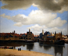 Vermeer, View of Delft