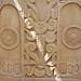 Le grand stūpa de Sanchi, pilier est du Torana nord (Inde)