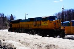 Gardner, MA (Littlerailroader) Tags: railroad train newengland trains transportation unionpacific locomotive trainspotting locomotives railroads norfolksouthern newenglandrailroads gardnermassachusetts