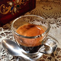 #espresso at #antiquehousecoffee  #chiangmai #thailand #เอสเพรสโซ ที่ #กาแฟสดเฮือนโบราณ #เชียงใหม่