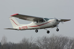 Reims Cessna F.177RG Cardinal  G-TOTO (Old Buck Shots) Tags: cardinal reims dm cessna gtoto f177rg egsv