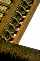 YMCA in concrete, Barbican Estate, London (MJ Reilly) Tags: london architecture canon concrete barbican 70s 1960s 1970s ymca brutalism brutalist cityoflondon ec2 s100 fannstreet goldenlaneestate aldersgate