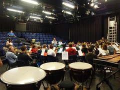 SCYB rehearsal with Richard Baker