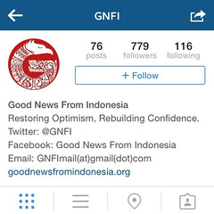 Selamat datang di Instagram @gnfi (Good News From... (nadhafashion) Tags: from news indonesia good di gue suka selamat banget datang gnf instagram gnfi mantengin twitnya