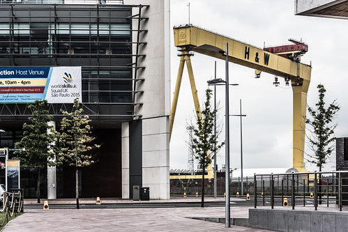 SAMSON AND GOLIATH CRANES IN BELFAST REF-102917