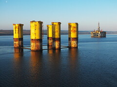 Hutton TLP remnants (thulobaba) Tags: energy offshore gas rig oil hutton tlp