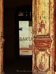 Baku (Murad Yuzbashov) Tags: door old city baku azerbaijan welcome innercity altstadt oldcity olddoor baki aserbaidschan   icherisheher