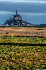 Petit matin sur le Mont St Michel / Sunrise on Mont Saint-Michel (christian_lemale) Tags: france nikon mont montsaintmichel saintmichel d7100