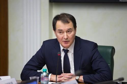 Заместитель министра транспорта Российской Федерации Валерий Окулов