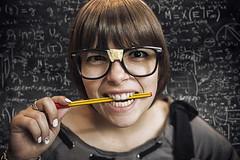 La matematica non è un'opinione (CARLORICCI) Tags: italy blur nerd italia bokeh 28mm mathematics carlo f18 letizia viterbo ragazza matematica figlia ©copyright carloricci riccarlo carl㋡ nikkorafs28mmf18g oןɹɐɔcarlo nikondf mathisnotanopinion