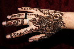 Henna #12 (Mönstrifer) Tags: red brown abstract beautiful design hand drawing rings henna pigment arabesque menhdi