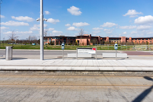 LUAS TRAM STOP IN CITYWEST [APRIL 2015] REF-103237