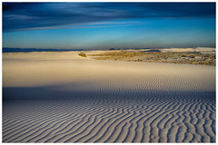 White Sands National Monument (Bryan the Roving Vagabond) Tags: new sunset sky white color monument clouds landscape mexico amazing sand outdoor dune national sands