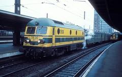 5936  Brssel - Sd  07.03.85 (w. + h. brutzer) Tags: analog train nikon eisenbahn railway zug trains locomotive 55 belgien lokomotive diesellok eisenbahnen sncb dieselloks webru brsselsd