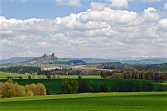 In a Far Away Land (Eric Luesink) Tags: old trees summer sky green castle grass clouds out spring czech may roadtrip adventure rows there fields czechrepublic cz picturesque czechia outhere