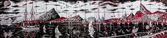 Mural de azulejos al pie de la Escalera de Selarn, Ro de Janeiro, Brasil (Edgardo W. Olivera) Tags: brazil southamerica brasil lumix mural panasonic escalera azulejo pintura guanabara escadaria sudamrica selarn gh3 rodejaneiro microfourthirds microcuatrotercios edgardoolivera