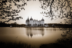 baroque Beauty (Goddl) Tags: lake castle landscape see outdoor baroque barock schlos