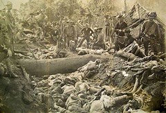 American massacre of the Tausug people of Mindanao, 1906 [800x600] #HistoryPorn #history #retro http://ift.tt/1TF5Vmk (Histolines) Tags: people history 800x600 massacre retro american timeline 1906 mindanao vinatage tausug historyporn histolines httpifttt1tf5vmk