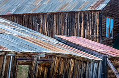 Bodie - Days Gone Bye (www.karltonhuberphotography.com) Tags: california wood old light color history texture abandoned window lines architecture outdoors exterior patterns exploring rustic historic adventure bodie woodenbuilding tinroof woodenstructure miningtown easternsierra historicsite 2016 architecturaldetails bodiestatepark horizontalimage buildingside karltonhuber