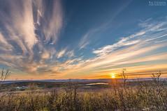 Evening sun (AngryTheInch42) Tags: trees sky clouds landscape sweden arctic kiruna midnightsun