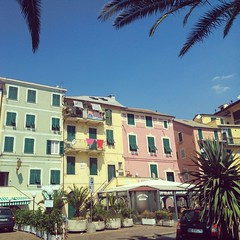 Colours of the Town (SixthIllusion) Tags: city italy house colour seaside liguria arenzano