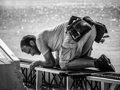 Les gens qui bossent (totofffff) Tags: street 2 white black france film festival alpes french riviera noir cannes 10 d mark olympus ii e om blanc maritimes croisette mditerrane