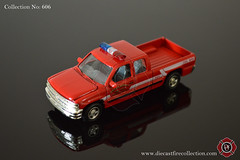 No. 606 | RACING CHAMPIONS | Bristol Kendall Fire Dept 1999 Chevy Silverado Pickup (www.diecastfirecollection.com) Tags: metal bristol toy fire model pickup 1999 collection chevy 164 emergency silverado kendall feuerwehr bomberos department fuoco dept fd diecast pompiers racingchampions