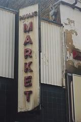 Woolwich Public Market sign. 17/05/16. (Ledlon89) Tags: market woolwich oldmarket publicmarket southeastlondon oldlondon londonse18 plumsteadroad