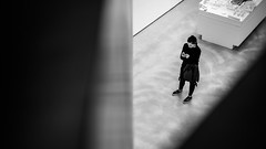 Maxxi, black and white street photography - Rome, Italy