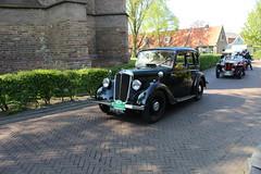 1936 Morris 10 / 4 (Davydutchy) Tags: classic car automobile tour ride 10 rally bil oldtimer frise morris friesland 104 bolsward klassiker frysln elfstedentocht frisia vetern boalsert