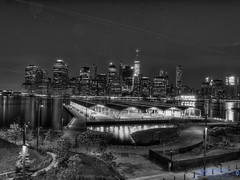 The City That Never Sleeps [Week 18, 2016] (Brian D' Rozario) Tags: city nyc longexposure light urban blackandwhite bw newyork reflection water skyline river lights blackwhite nikon energy cityscape manhattan hudson hdr highdynamicrange bnw urbex photon photons glitz citythatneversleeps alwaysawake glits d7k d7000 tokina1116mmf28 giveusyourbestshot briandrozario brian19869 522016week18