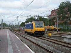 NS Traxx 186 019 te Rotterdam CS (erwin66101) Tags: station rotterdam ns cs trein centraal bombardier traxx rotterdamcentraal locomotief rotterdamcs llt losse intercitydirect losselocomotieftrein locomtieftrein