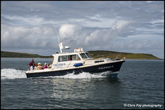 Scilly tourist boat (chrisfay55) Tags: boat tourist launch islesofscilly cornwall uk england sea