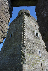 Carriganass castle (1540) County Cork Ireland (David Russell UK) Tags: county ireland building tower castle stone architecture fort outdoor cork ruin eire keep fortification 16thcentury kealkill carriganass