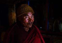 The Genial Monk (arunchs) Tags: portrait monk buddhism zanskar himalayas rangdum rangdummonastery