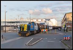 LC 1505 - Vopak Vlaardingen (Spoorpunt.nl) Tags: 5 juli vlaardingen vopak zans bediening 2016 rotonde koningin 1505 vtg wilhelminahaven locon ketelwagens g1206 vulcaanweg