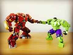 (henrypinto) Tags: ironman hulk hulkbuster legohulk legoironman legomarvel legohulkbustervshulk
