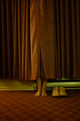 It's Curtains For You (eddi_monsoon) Tags: threesixtyfive 365 selfportrait selfie self portrait curtains shoes