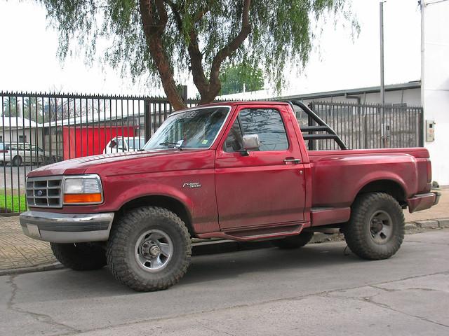 ford 4x4 pickup f150 1992 xl camionetas sidestep fordf150 flareside f150xl fordfseries