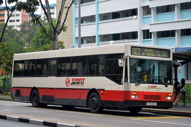 SMRT Buses Mercedes-Benz O405 Hispano Carrocera